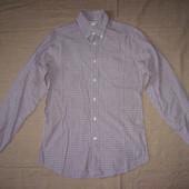 Edoardo de Giorgy slim fit (38/S) рубашка мужская натуральная