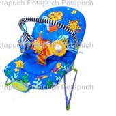Кресло Шезлонг-качалка с погремушками 101-А
