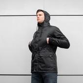 Мужская Куртка Парка beZet spring all black - Размер xs. s. m. l. xl.