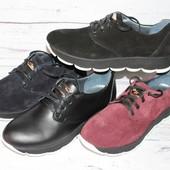 Женские слипоны, кроссовки на шнурках, кожа, замша, цвета