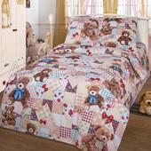 Комплект детского постельного белья, Медвежонок, бязь ГОСТ
