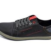 Мужские кроссовки Tommy Hilfiger Stile H4 черные (реплика)