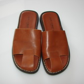 Don Uorri (Италия) Кожаные босоножки, шлепанцы , 42-43 (по маркировке 43), стелька 28 см идеально на