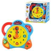 Развивающая игрушка музыкальные Часы 3898, TM Hap-p-kid, 3 режима, английский немецкий