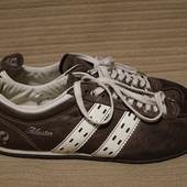 Легкие мягкие комбинированные кожаные кроссовки Blaster Голландия 43 р