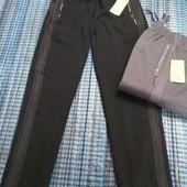 Фирменные подростковые штаны на флисе. Размеры 134-164