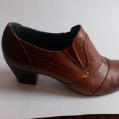 ботильоны туфли Roberto Santi натур кожа р 40