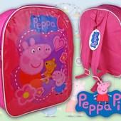Дошкольный детский рюкзак  Свинка Пеппа в наличии