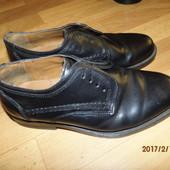(№520)кожаные туфли 39-40 р