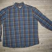 Фирменная рубашка M&S р. XL 54-56 Индия.