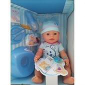 Интерактивный пупс Metr Аналог Baby Born