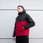 Мужская Куртка Анорак fight blood - Размер xs. s. m. l. xl. xxl.