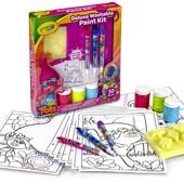 "Crayola Набор для творчества ""Тролли"" со смываемыми красками trolls deluxe washable paint kit"