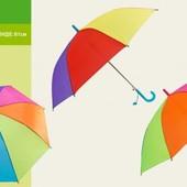 Зонт Радуга 2 цвета 61см E12803 зонтик