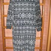 Пижама флисовая, мужская, размер S/М, рост до 185 см