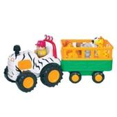 Развивающая игрушка - Сафари-джип (на колесах, свет, звук)