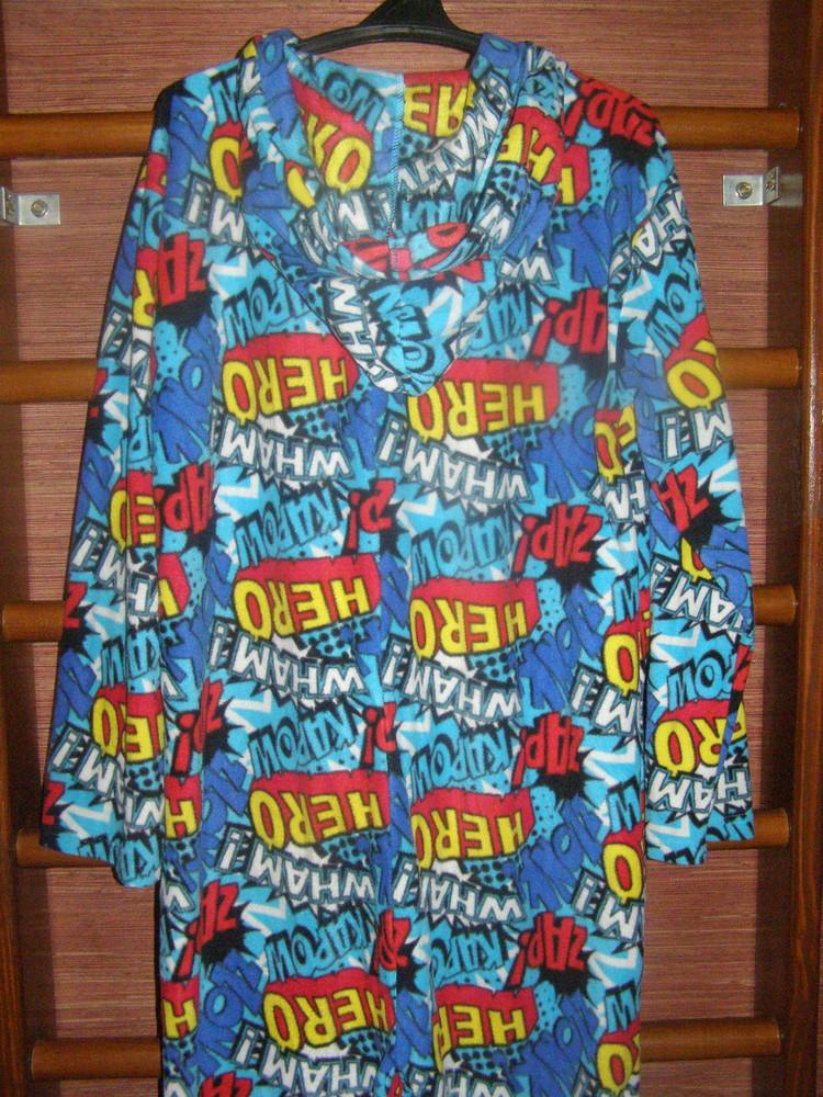 Пижама флисовая, мужская, размер XL, рост до 185 см,Peacoks фото №1
