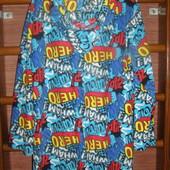 Пижама флисовая, мужская, размер XL, рост до 185 см,Peacoks