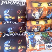 детская декоративная подушка ниндзяго  3 D картинка