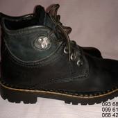 Зимние кожаные сапоги,ботинки Andre,37р,стелька23,5см