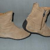Ботинки женские,Geox,нубук,р.37,стелька 24,5.,демисезон.