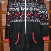 Пижама флисовая, мужская, размер M/L, рост до 185 см