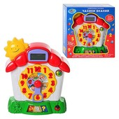 """Развивающая игрушка """"Часики знаний"""", JT 7007, учим цифры и время, дисплей, 3 режима игры"""