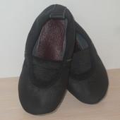 Чешки кожаные черные размер 14-24 см качественные украина классические чорні класичні
