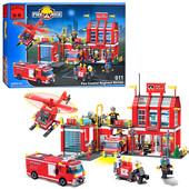 """Конструктор Brick 911 """"Пожарная охрана"""" , 980 дет."""