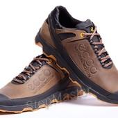 Кожаные кроссовки Ecco Natural Motion Olive