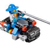 Лего нексо найтс. Мотоцикл рыцаря. Lego Nexo Knights 30371 Оригинал!
