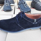 Мужские туфли Кожа и замш