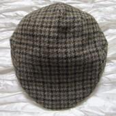 Кепка шерсть harris tweed Англия Marks&Spencer L 59-60