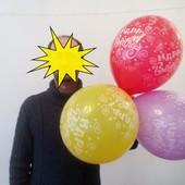 шарики воздушные с рисунком - огромные!