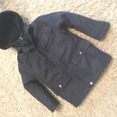 Зимняя куртка-пальто на мальчика