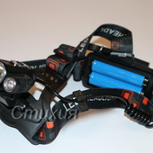 Налобный фонарь+вело X-Balog Police BL-1825