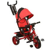 Детский трехколесный велосипед M 3113-1 Turbo Trike (Eva),красный