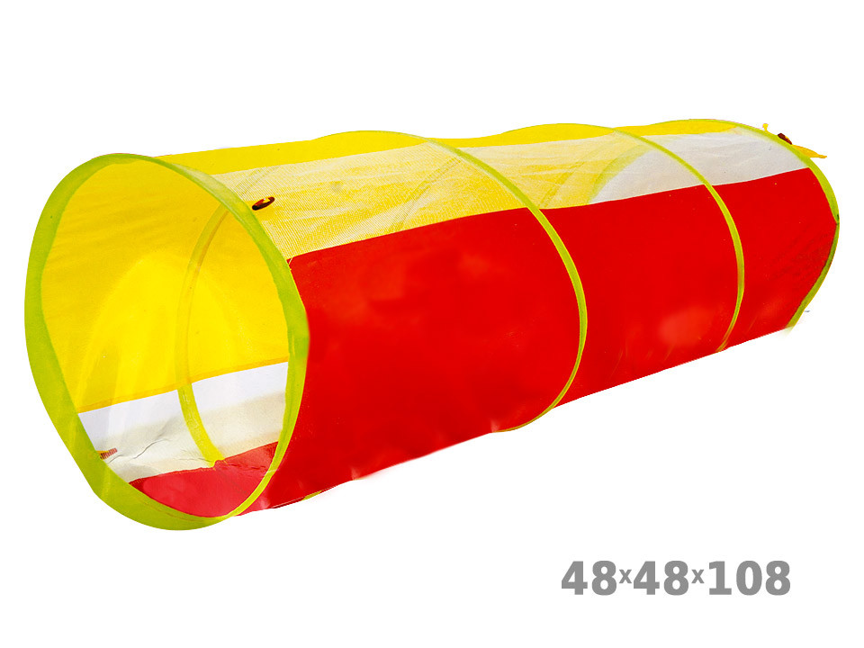 Палатка-туннель 48*48*108см в сумке фото №1
