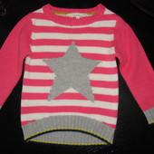 красивенный свитер 3-4 года(можно до 5) sweater shop отл.сост.