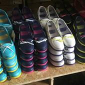 Супер цена!!Кроксы мокасины Crocs beach line женские. В наличии