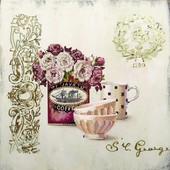 Набор для вышивки бисером Кофейная симфония ВБ1026
