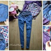 Идеальные джинсы-скинни для беременных,р-р Л