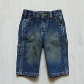 Стильные плотные джинсы для маленького модника. OshKosh. Размер 6-9 месяцев. Состояние: идеальное