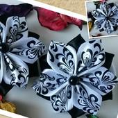 Резинки для волос заколки для волос ручной работы бантики для волос для девочки
