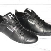 Кожаные кроссовки в стиле Reebok, мужские
