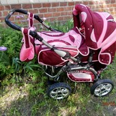 Детская коляска-трансформер Adamex Panda