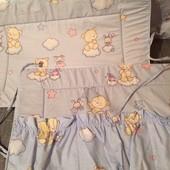 Охранка-боковинки для дитячого ліжечка