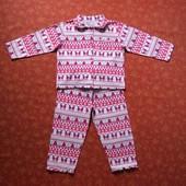 Байковая пижама на 5-6 лет Rose & Alfie, б/у. Хорошее состояние, без пятен. Штаны - длина 60 см, шаг