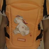 Кенгуру-переноска детей rainbow 15 excluzive оранжевый  Womar ( оригинал )