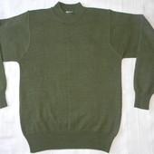 Тонкий шерстяной свитер р.S